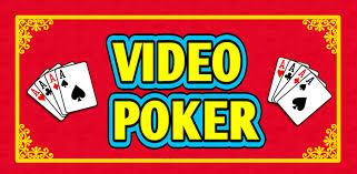 video poker cards