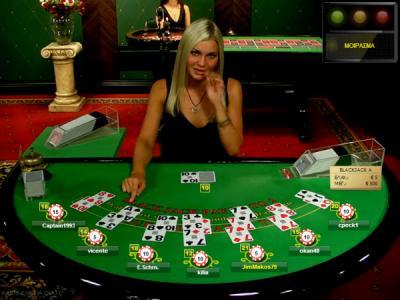 Live online Blackjack dealer