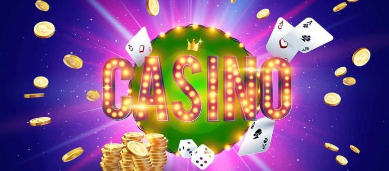 jeu de carte de casino et jetons